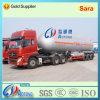 Venta de la fábrica 40ton GLP / ácido tanque químico líquido Semi Remolque