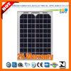 10W 156*156mono Silicon Solar Module met CEI 61215, CEI 61730