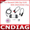 Самое новое Super Re-Nault Can Clip V145 Diagnostic Interface с An21355sc Chip с multi-Language