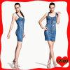 Женщина Jean, тощие джинсыы юбка, джинсыы джинсовой ткани (DS003)