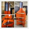 Розничный деревянный Wall-Mounted деревянный стеллаж для выставки товаров бутылок вина