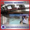 Máquina do PVC da placa da espuma para substituir a linha de produção da placa do MDF