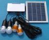 Nuevo sistema de iluminación recargable de la batería solar LED del diseño