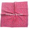 I prodotti dell'OEM hanno adattato fazzoletto per il cliente caldo promozionale del cotone stampato marchio il grande
