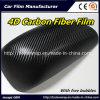 pellicola del vinile della fibra del carbonio 4D