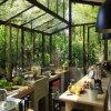 実用的な薄板にされたガラスのアルミニウム保存性の庭部屋(TS-506)