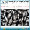 Dientes cónicos del punto negro del taladro de las herramientas Drilling Bkh81 Bkh47 Bkh85 de la fundación de la explotación minera