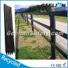 Aufbereitetes Fechten, Qualitäts-preiswerter Pferden-Zaun, Vinylzaun