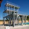 Almacén prefabricado de la estructura de acero para el almacenaje