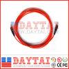 Millimètre à un noyau de FC de PC de corde de pièce rapportée (corde de pièce rapportée de PC de millimètre FC)