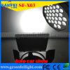 Auto toon Lichte 31*10W het Licht van de Zuivere Witte LEIDENE Tentoonstelling van de Auto