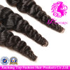 7A 브라질 Unprocessed Loose Wave Weft 100%년 Virgin Remy Human Hair Extension