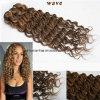 La meilleure trame onduleuse brésilienne de vente de cheveux humains de Remy de Vierge