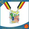 Medaille van Virton Carnaval van de Douane van China van de Stijl van het beeldverhaal eindigt de Kleurrijke met Baksel