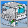 Dubbele het Mengen zich van het Poeder van het Type van Peddel van de Schacht Horizontale Detergent Machine