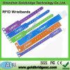 El de alta frecuencia de papel RFID de la longitud 13.56MHz Mifare Desfire de la correa ajustable impermeabiliza el Wristband