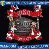 Medalha de metal de liga de zinco e medalha de lembrancinha esportiva