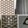 Aluminum decorativo Expanded Wire Mesh per Curtain Wall