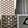 Acoplamiento de alambre ampliado aluminio decorativo para la pared de cortina