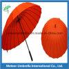 High Quality Straight Auto Open 24ribs Big Golf Umbrella