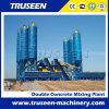 Usine de traitement en lots concrète de double de machine de construction de routes