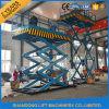 Preço hidráulico do elevador da carga do armazém hidráulico