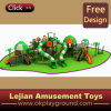 Children Wonderful Castle Plastic Outdoor Playground (12097A)