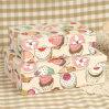 Caja de embalaje impresa del regalo de papel del helado