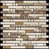 Nastri naturali rotti delle mattonelle di mosaico del metallo/mosaico di pietra