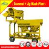 Pianta di lavaggio dell'oro alluvionale completo del rifornimento di servizio dell'assistente tecnico in Africa