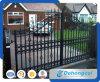Puerta decorativa del hierro labrado de la seguridad del jardín (dhgate-32)