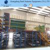 Plate-forme à plusieurs niveaux lourde avec le soutien de crémaillère de la mémoire d'entrepôt