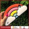 Caixa amigável do telefone do silicone do teste padrão do arco-íris de Eco