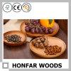 Plaat van het Fruit Soild van de kers de Houten Houten Ronde