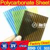 Feuille de polycarbonate pour la serre chaude et la lucarne
