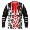Breathable erhitztes neues Entwurfs-Sublimation-Motorrad Jersey (MAT30)