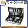 Aluminiumzubehör-Kasten für Edelstahl BBQ-Hilfsmittel-Set (HT-3003)