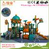 カウボーイの環境に優しく物質的な屋外の子供のプラスチックスライドのゲームの運動場