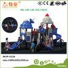 宇宙シリーズ子供の屋外の運動場のスライド