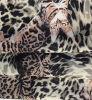 동물성 표범에 의하여 인쇄되는 폴리에스테에 의하여 길쌈되는 직물