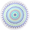 Экстренное Large Custom Printed Round Beach Towel с Turkish Circle Towel Circle Towel Reactive Printing Turkish Tassels