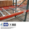 Painel resistente da plataforma do fio da cremalheira da pálete para o armazenamento do armazém