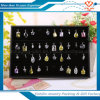 2016 neues Wooden Jewelry Earring Ring Pendant Display Tray mit Holder