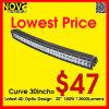 De Prijs van de fabriek! ! IP67 CREE LEDs 30inch Double Row LED Light Bar, LED Work Light voor Truck Auto, LED Spot/Flood/Combo Light