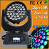 DJ Disco 36*15W RGBWA 5in1 6in1 LED Wash Moving Head Light (SF-109A)