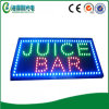 Estate Hot Sale LED Juice Bar Open Display (hsj0014)