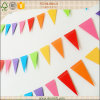 Cheap popular Paper Triangle Buntings para Birthday Party de Kids