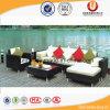 Sofà esterno di colore del giardino della mobilia di vimini naturale del patio (UL-6002)