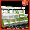 Gabinete de exhibición cosmético del contador cosmético de madera de la exhibición