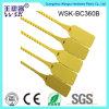 Selo plástico plástico do fecho de correr da manufatura 36cm da fábrica do selo de Foshan com amostra livre